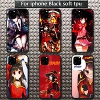 konosuba megumin phone cases for iphone 8 7 6 6s plus x 5s se 2020 xr 11 12 pro mini pro xs max