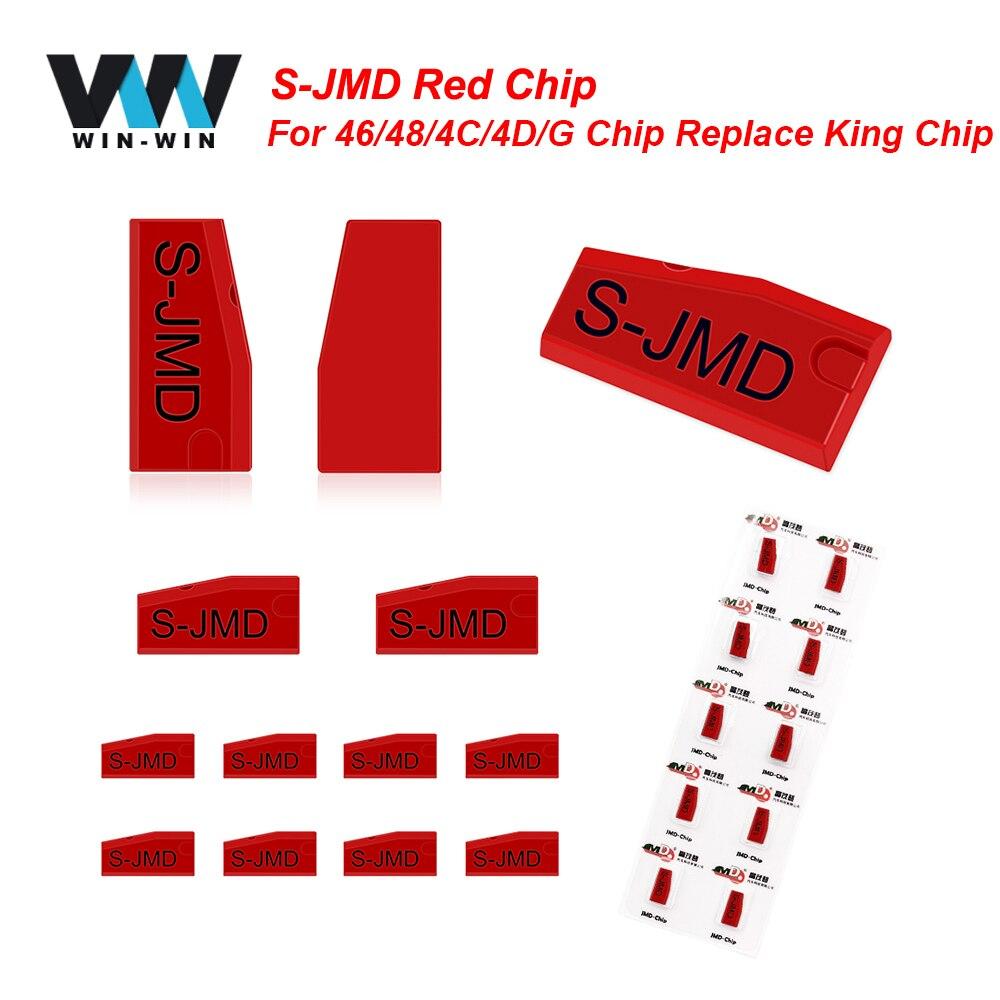 Original a mano bebé 2 JMD Super Chip rojo JMD clave copiadora JMD-S Chip para CBAY Super rojo 46/48/4C/4D/G Chip reemplazar JMD rey