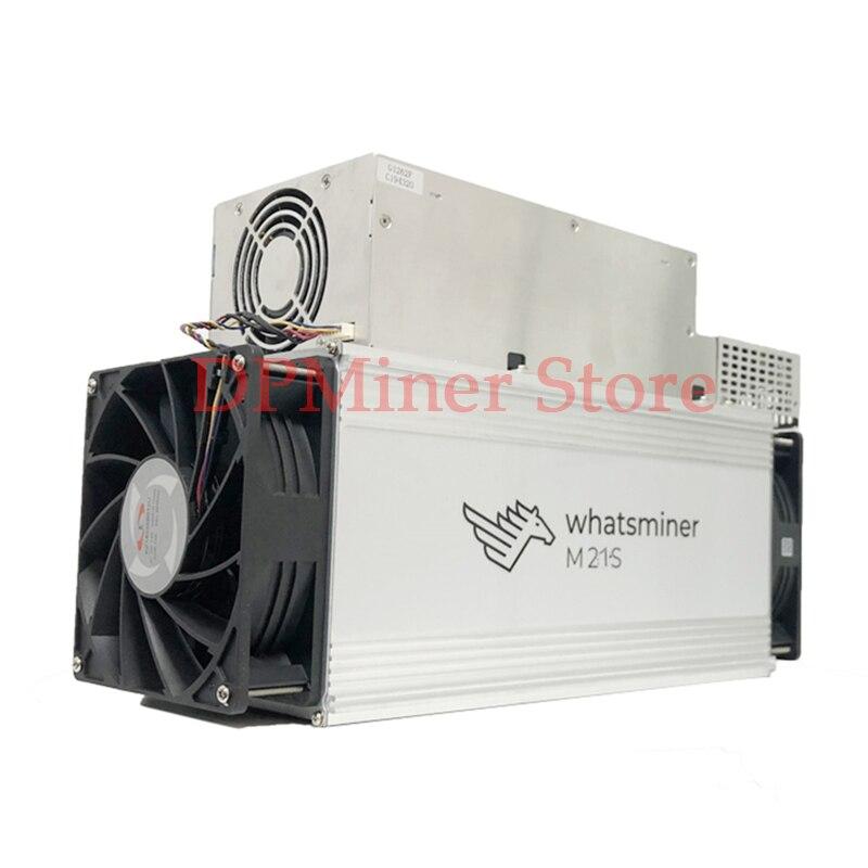 Whatsminer M21S/50T 3596W Bitmain Blockchain Used Miner Bitcoin Asic Miner Mining Machine