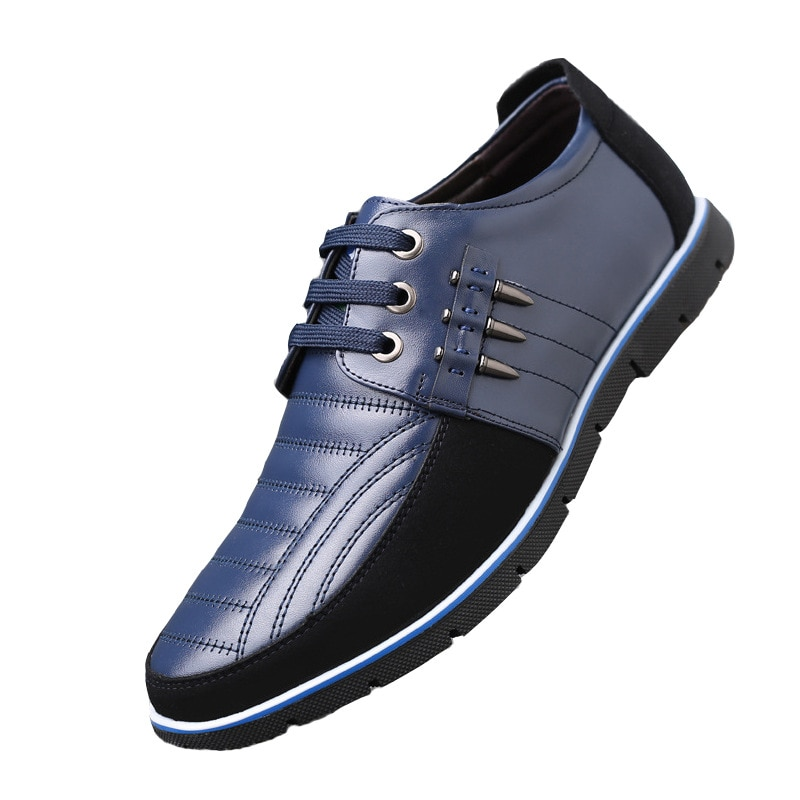 الرجال جلد طبيعي الفراء أحذية عالية الجودة شريط مرن تصميم الأزياء الصلبة مثابرة مريحة أحذية رجالي أحجام كبيرة 2020