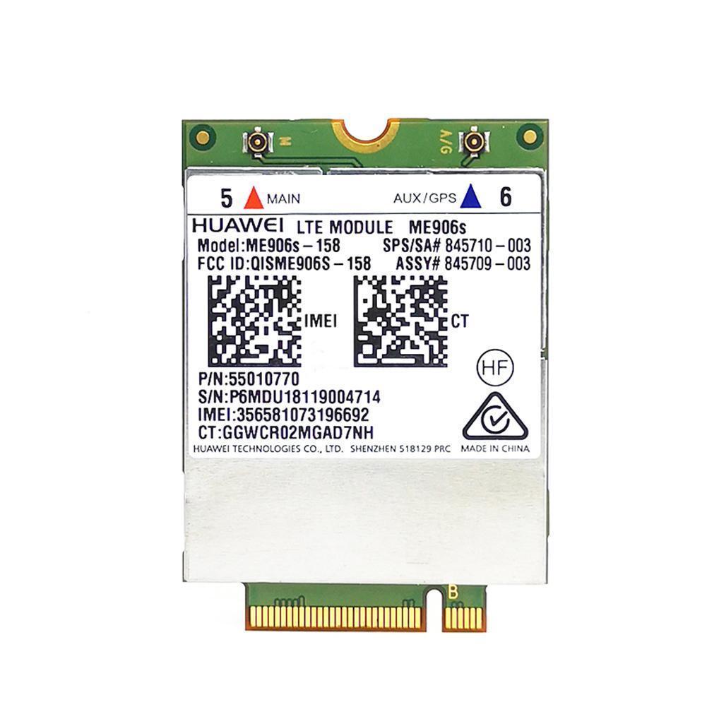 Hp lt4132 huawei ME906S-158 4g lte/hpsa + módulo de banda larga móvel wwan 845710-001 m7m8