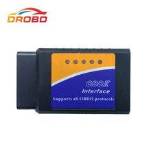 OBD2 ELM327 V1.5 Mini поддерживает все командные диагностические инструменты ELM327 V 1,5 Bluetooth 3,0 Для Android автомобильный сканер считыватель кодов
