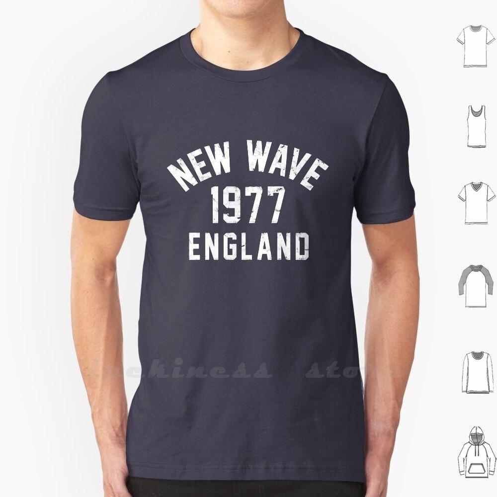 Nueva camiseta ondulada 6Xl nueva ola Post Punk Cbgb cabezas parlantes Ian Dury Nick Lowe Eddie y La Hot Rod Dr Feelgood Blondie