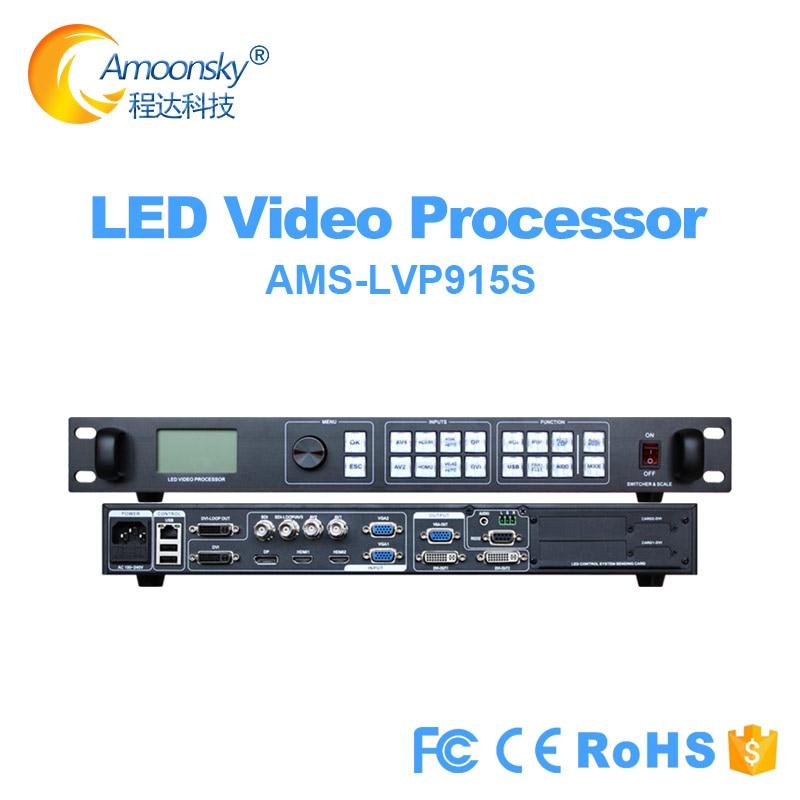 Indoor Outdoor Fine Pitch Led Video Wall p4 p12 p3 p3.91 p2 p6 p10 Controller LVP915S Better Novastar vx4s Led Video Processor