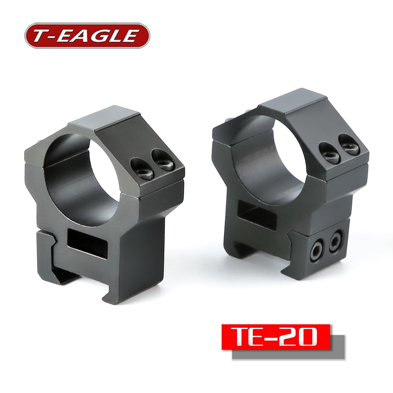 T-eagle TE-20 universal 30 mm mount for riflescope manufacturing CNC precision machining military picatinny rail tatical