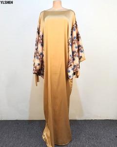 Long Abayas Maxi Dress African Dresses for Women Muslim Dress Dashiki Boubou Robe Africaine Femme 2020 New Bazin Africa Clothing