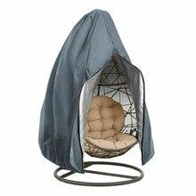 Couverture de chaise dœufs suspendue   Housse anti-poussière pour chaise pivotante de Patio, étanche, pour jardin en plein air, 190x115cm