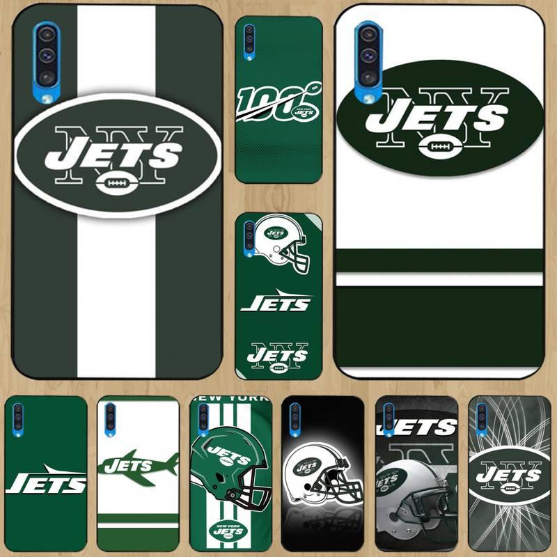 0 de los Jets de Nueva York suave negro caso de teléfono...