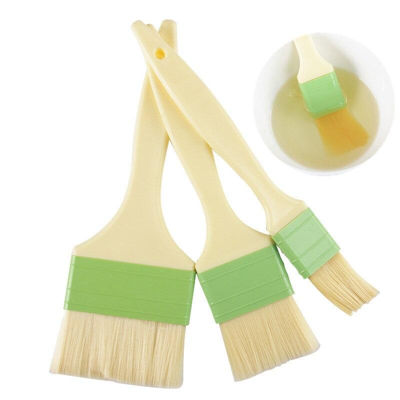 De bricolaje barbacoa cepillo de silicona mango de plástico no-stick barbacoa pastel...