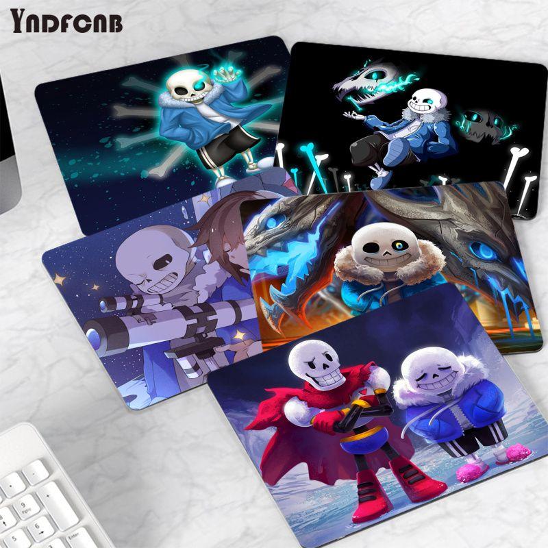Модный игровой коврик для мыши YNDFCNB Undertale, коврики для компьютерной игровой мыши или Overwatchs, гладкий коврик для письма, настольные компьютеры,...