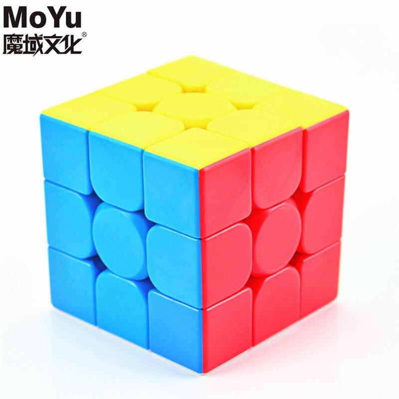 MoYu Meilong 3C 3x3x3 магический куб кубики классная головоломка кубики без наклеек Mofangjiaoshi Meilong3 C скоростные кубики антистресс игрушки