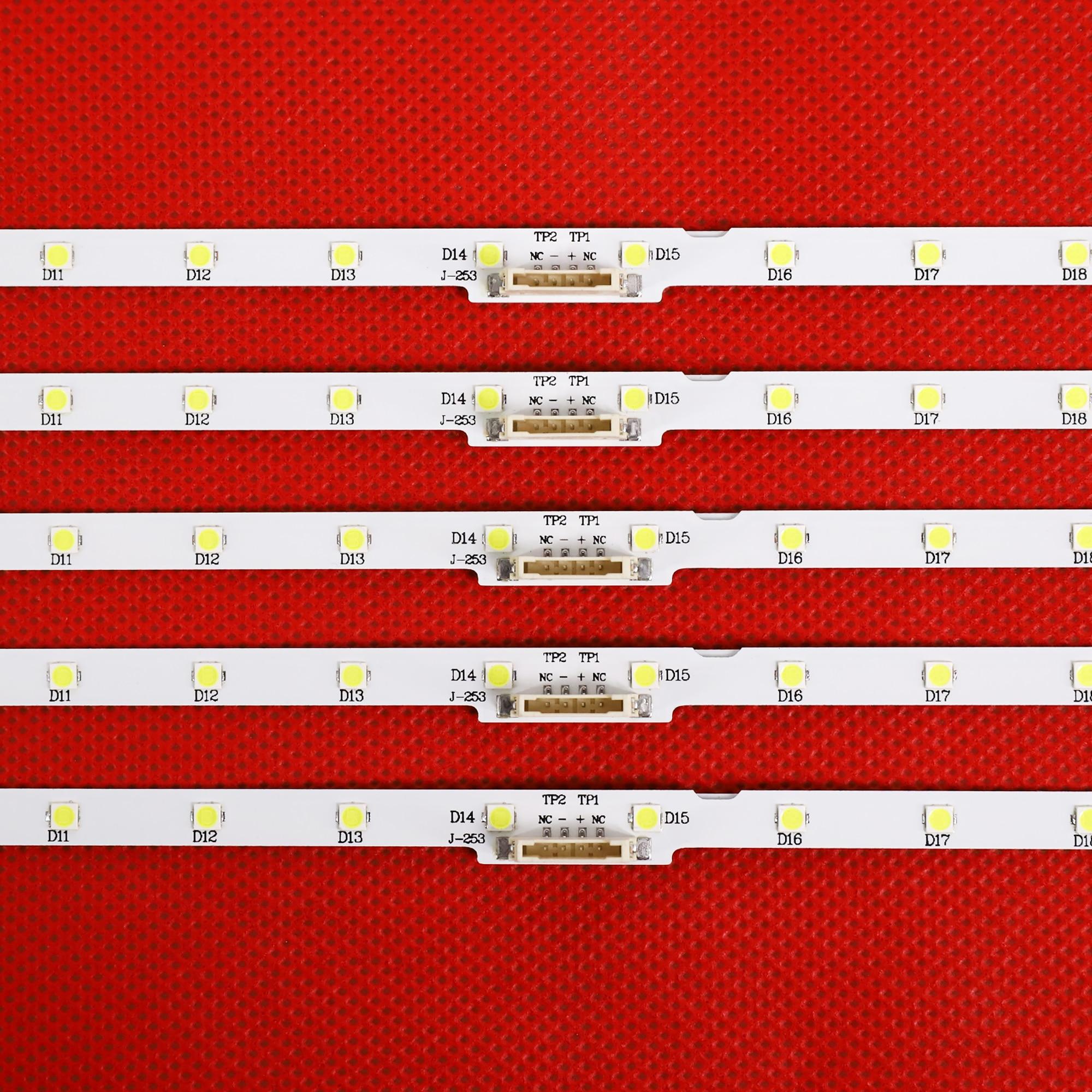 10 قطعة/الوحدة LED الخلفية قطاع لسامسونج UN43NU7100 UE43NU7100U AOT_43_NU7100F UE43NU7120U UE43NU7170U BN96-45954A UE43NU7100