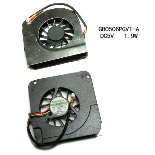 Jianglun 3 fio 3pin conector ventilador de refrigeração para asus a9rp a9 a9t packard bell ALP-T19