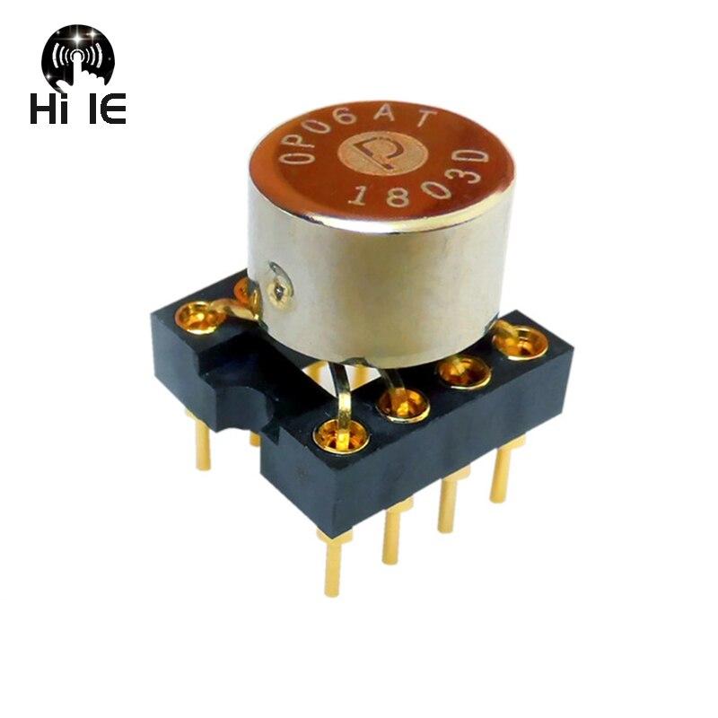 AMPLIFICADOR DE FUNCIONAMIENTO discreto OP06AT de Audio de alta fidelidad amplificador doble Op Amp Upgrade AMP9920AT MUSES02 01 SS3602 V5i-D V6 OPA2604AP