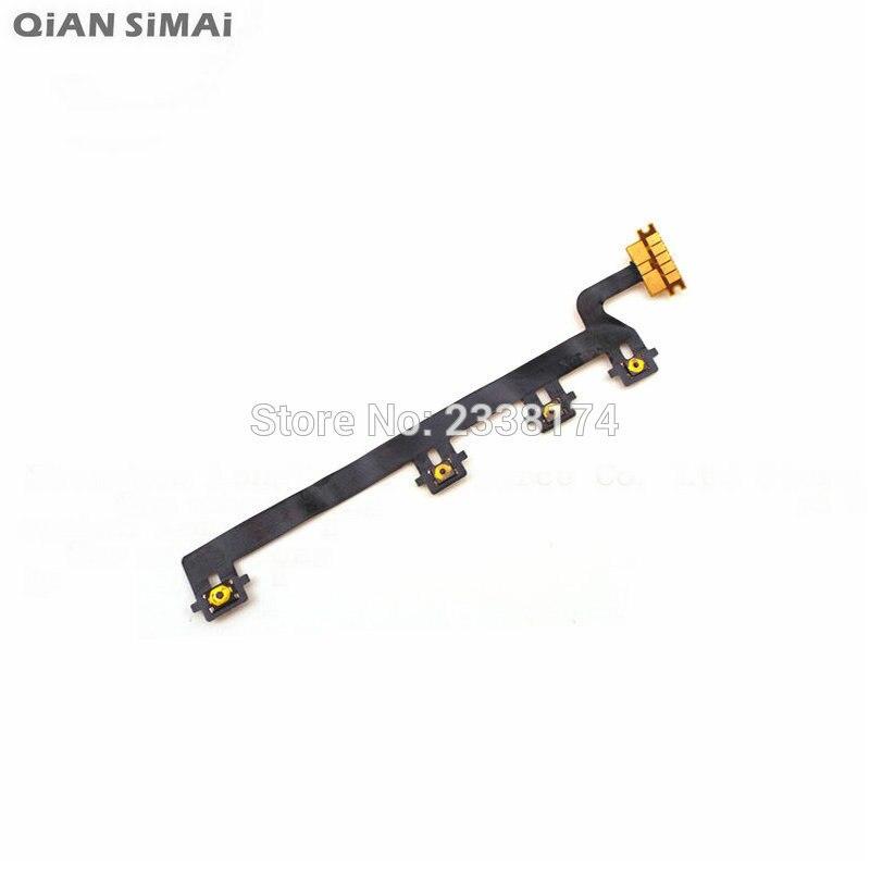 QiAN tamai-botón de encendido/apagado para Nokia Lumia 820, piezas de reparación de...