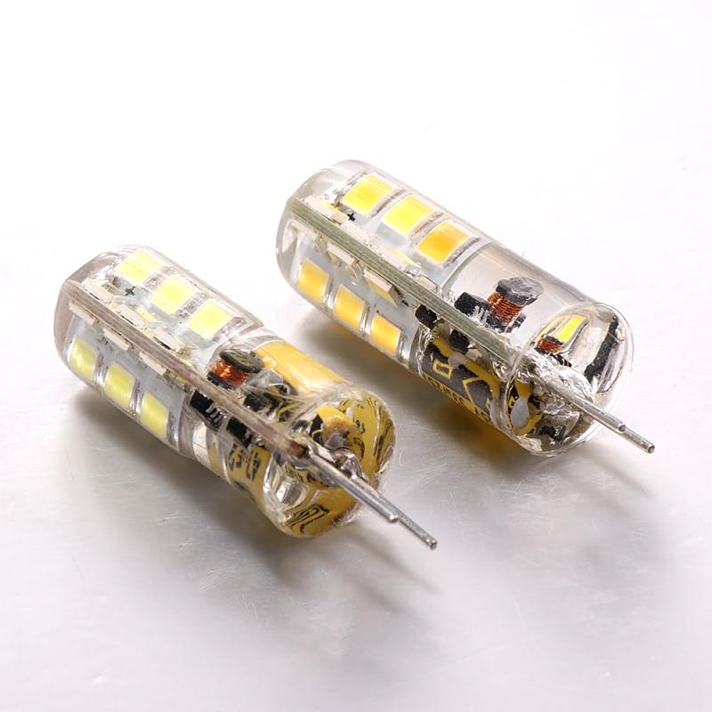 G4 LED 12V AC DC 3W 5W LED Light G4 24 / 48leds LED Corn Light Bulb