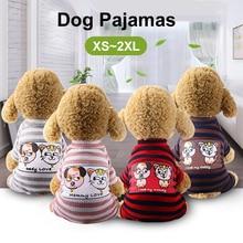 Dog Pajamas Pet Spring And Summer Puppy Jumpsuit Home Service  Pet Clothes Cat Clothes Pyjama Combinaiso