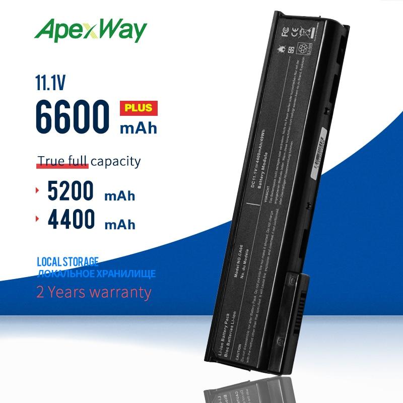 Apexway CA06 بطارية لجهاز HP ProBook 640 645 650 655 G0 G1 محمول 718755-001 718756-001 CA06XL CA09 HSTNN-DB4Y/LB4X/LB4Y/LB4Z