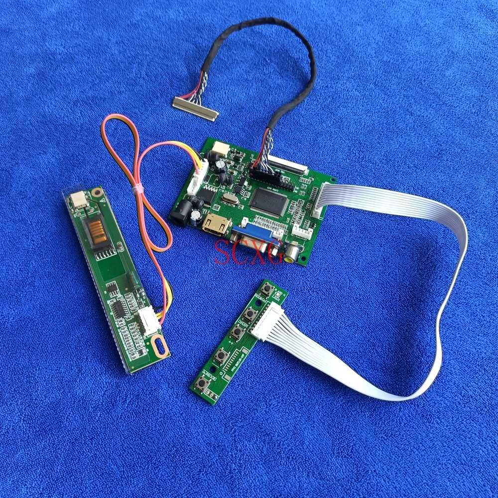 شاشة وحدة تحكم بشاشة إل سي دي بطاقة عدة 1024*768 HDMI-متوافق VGA AV ل HSD150PX14/HSD150PX15/HSD150PX16/HSD150PX17 30 دبوس LVDS 1CCFL