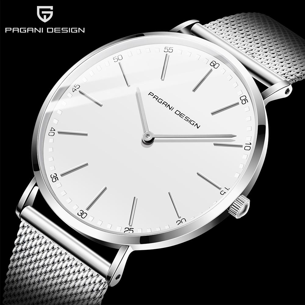 Diseño PAGANI 2020 reloj de moda Casual para hombre reloj de cuarzo impermeable de lujo reloj de marca reloj Masculino reloj de hombre