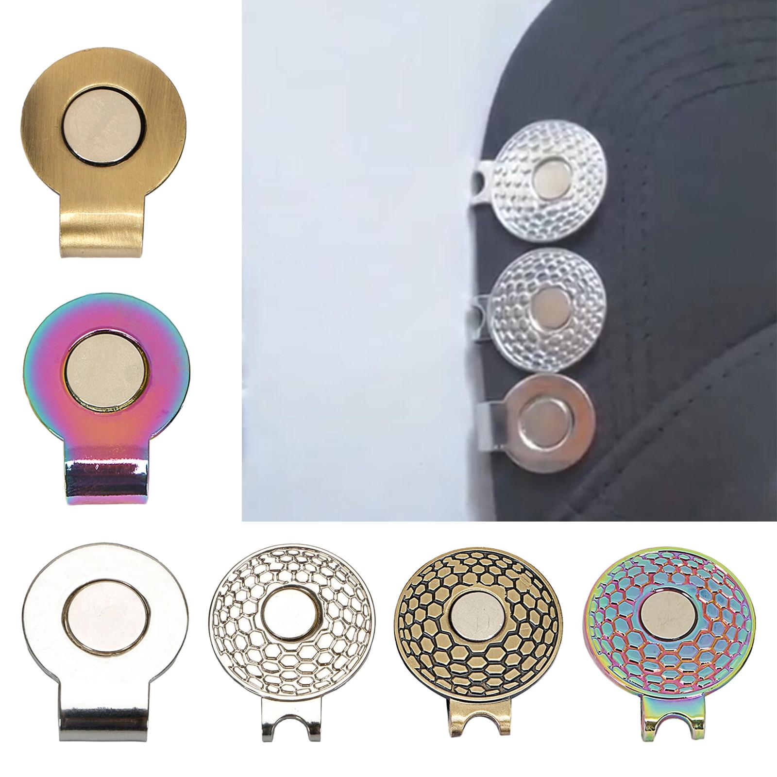 Marqueurs de balle de Golf magnétiques, Clip de chapeau magnétique, Club de mise en place, cadeaux pour golfeur, cadeau