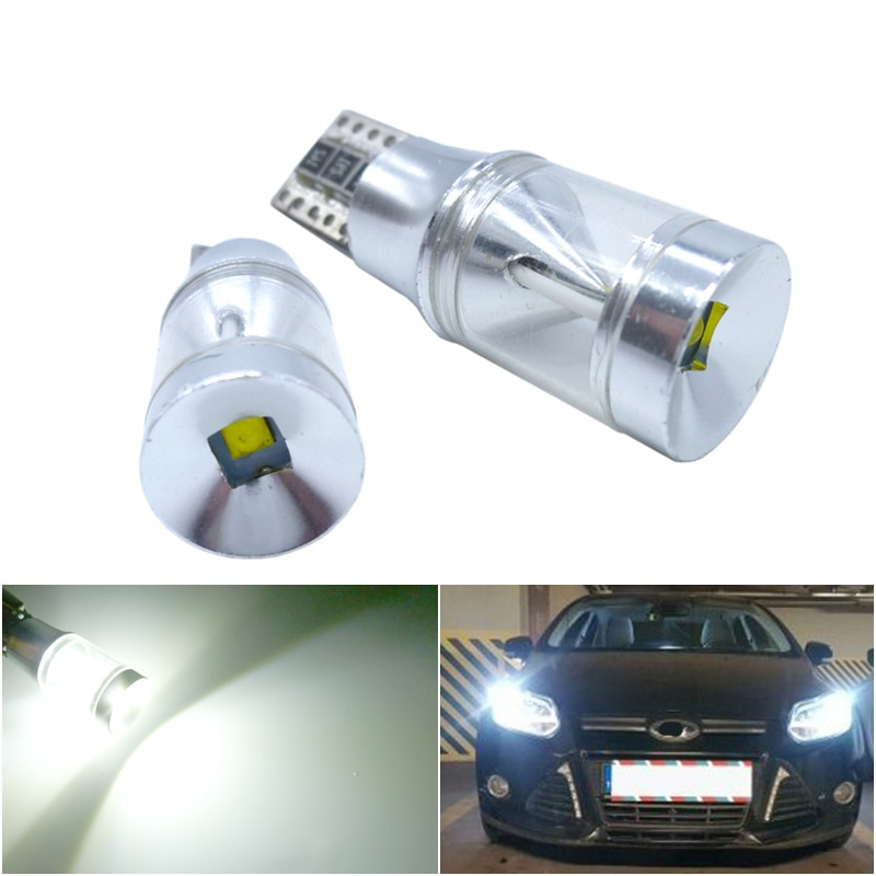 2x W5W T10 LED Light Bulbs CREE Chip 194 Led Light Car Clearance Parking Lights For Alfa Romeo 159 147 156 Giulietta Mito