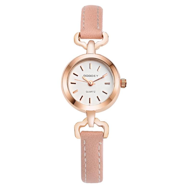2021 Gogoey Top Brand Luxury Rose Gold Womens Watches Fashion Ladies Wrist Watch Women Clock saat bayan kol saati