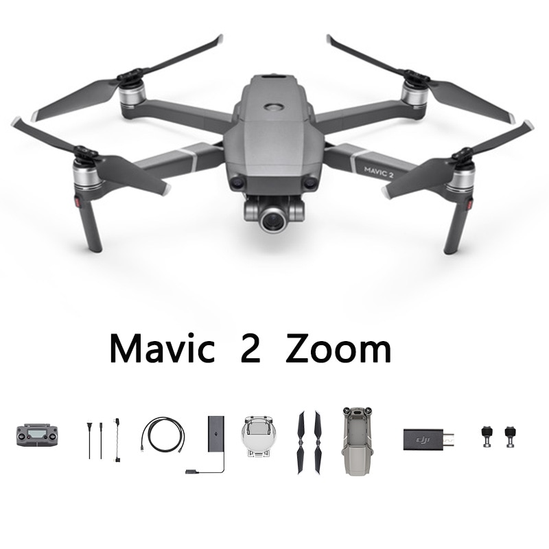 DJI Mavic 2 Zoom Powered by a 1/2.3-inch 12-megapixel sensor with up to 4x zoom,4 the Mavic 2 Zoom is about dynamic perspectives