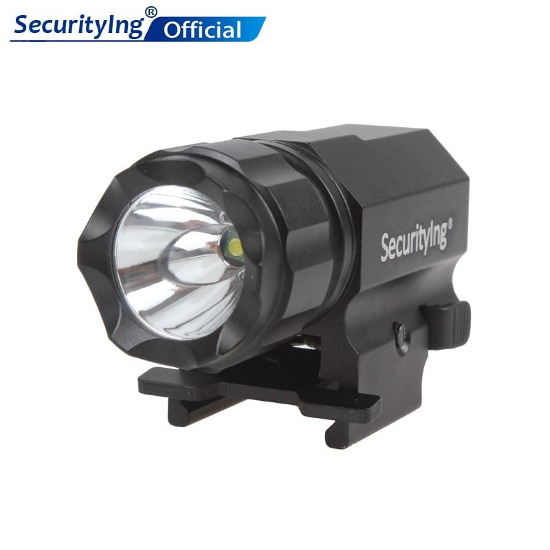 Potente linterna LED SecurityIng de 600 lúmenes para exteriores, lámpara R5 LED, pistola táctica, linterna P05 para exteriores/Cocina/vestíbulo