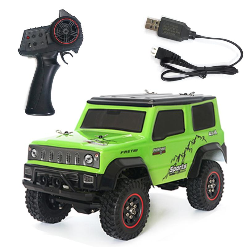 SG-1801 RC Car 1:18 2.4G 4WD Climbing Car Low Voltage Protection Remote Control Model Car Toy 20KM/H High Speed enlarge