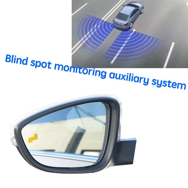 نظام BSD BSM BSA للسيارة نظام الكشف عن الرؤية الخلفية للرادار لسكودا اوكتافيا 5E 2012 ~ 2020