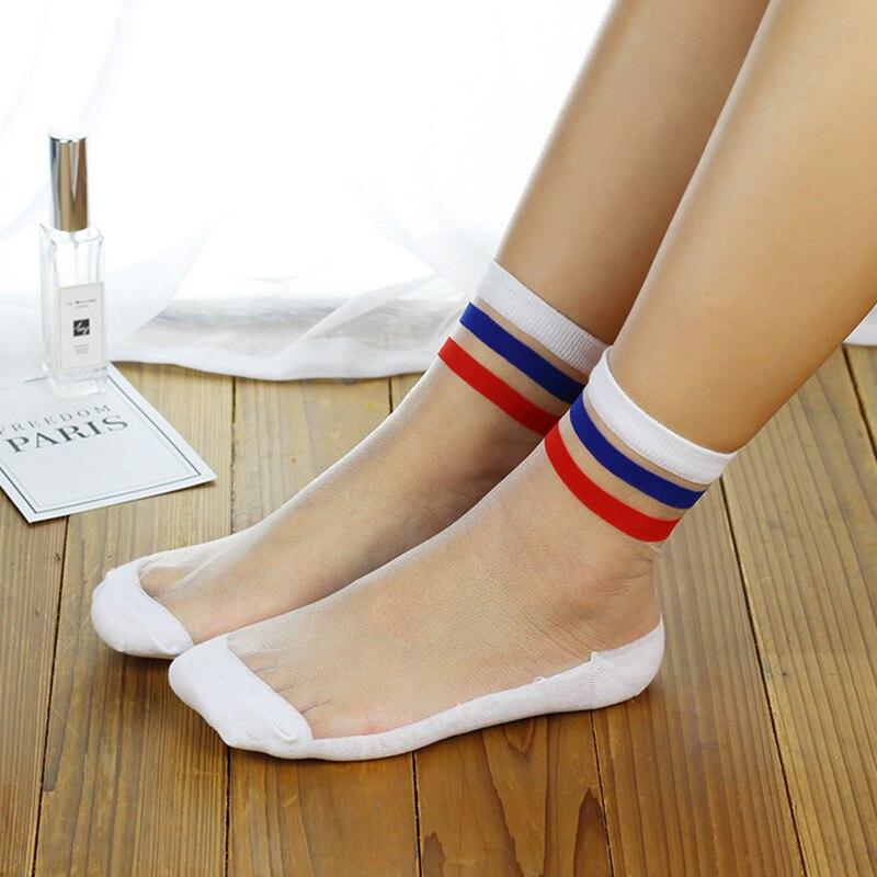 Streetwear Van Gogh calcetines difusos Kawaii lindos calcetines del dedo del pie estilo coreano japonés para mujer