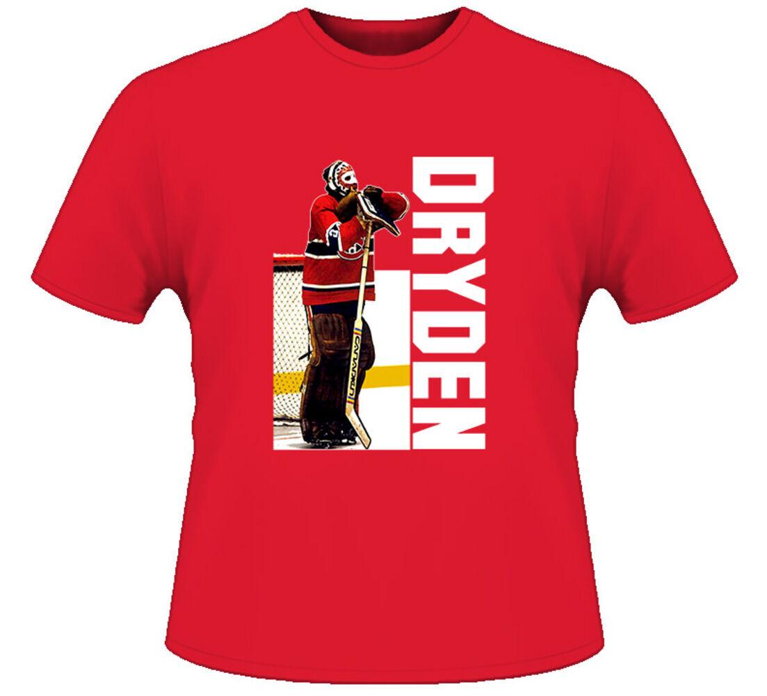 Ken Dryden Montreal Classic Goalie Pose T Shirt