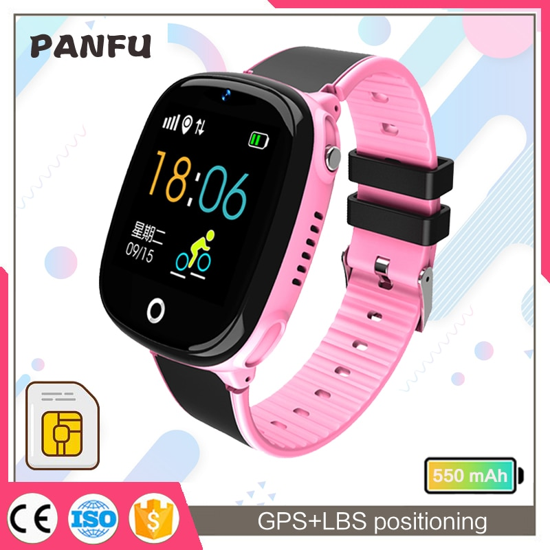 SK07 HW11  Smart watch Kids GPS For Kids With Sim Card Photo Waterproof IP67 Kids Gift For IOS Andro