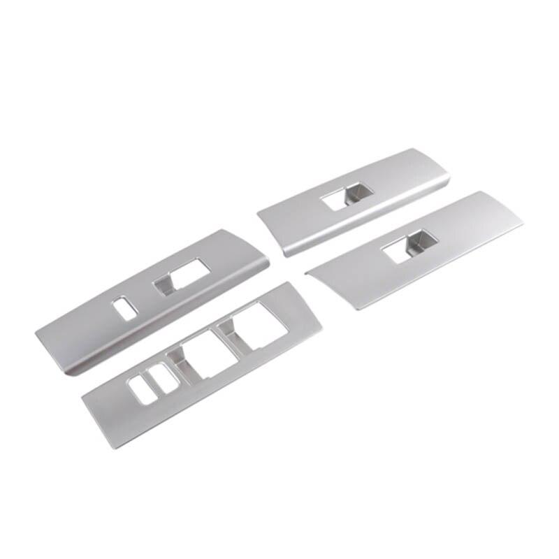 Door Window Glass Lift Button Sticker Knob Cover Decorative Frame Trim For 4runner 4 runner Accessories 2010-2019 enlarge