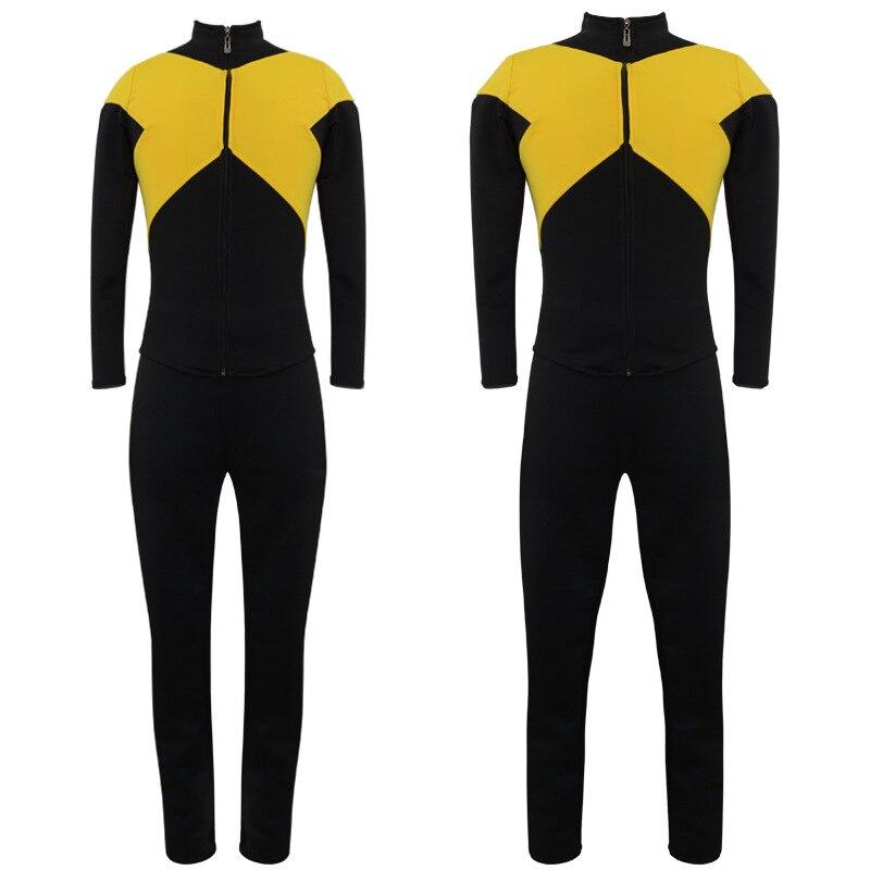 Мужской костюм X-Men Jean, серый костюм X-Men Dark Phoenix, костюм для косплея из лайкры, спандекса, Zentai Xmen, темно-облегающий костюм Феникс