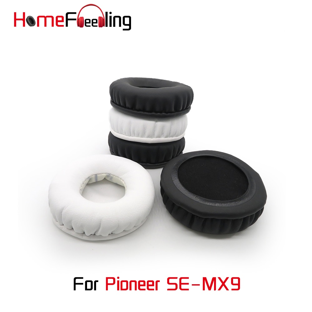 Homefeeling Ear Pads for Pioneer SE-MX9 Headphones Super Soft Velour Sheepskin Leather Ear Cushions