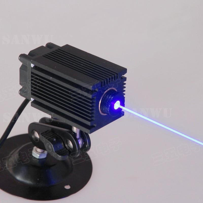 Módulo de 2.5 watts de potência de saída Do Laser de gravura especial luz azul 445nm