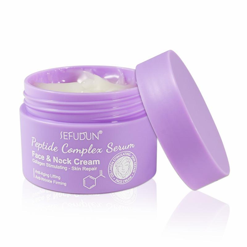 30g Firming Cream Face Neck Peptide Moisturizing And Nourishing Essencical Cream Anti-Wrinkle Skin C