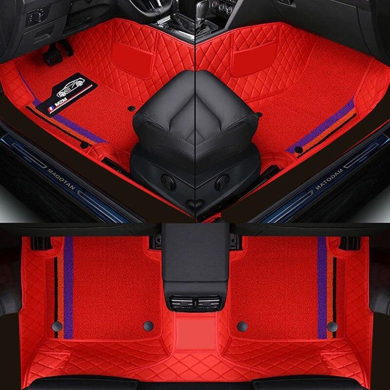 Alfombrilla de coche para nissan qashqai j10 j11 juke tiida x trail t31 t32 teana j32 almera g15 patrol y61 accesorios alfombras