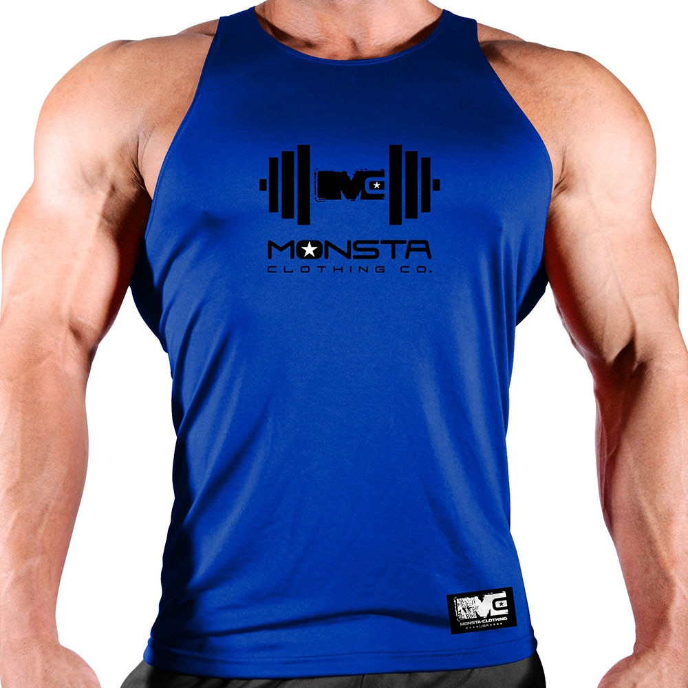Muscle Fitness New Sports Quick-Drying Vest Men's Sports Basketball Vest Loose Elastic Sweat-Absorbent Breathable Clothing