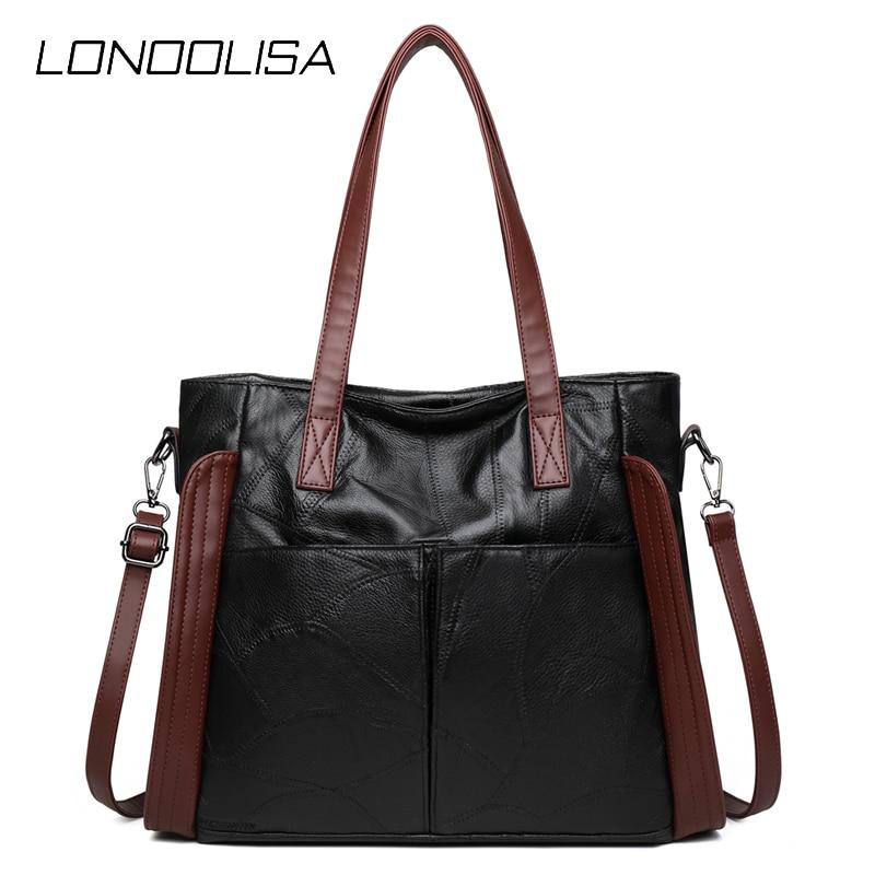 Grande capacidade genuína de pele carneiro sacos de ombro para as mulheres 2020 novas bolsas de luxo bolsas femininas designer alta qualidade saco de compras