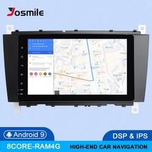 DSP 4GB 64G 2Din Android 9 araba radyo DVD GPS Navi Mercedes/Benz W203 W209 W219 a-C Class CLS C180 C200 Vito Viano multimedya