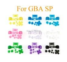 De plástico transparente manga larga con botones de GBA SP B seleccione Inicio de fuera de L R botones D Pad transparente