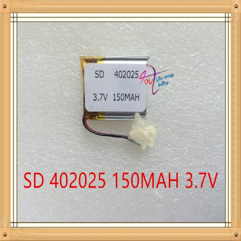 Batería de energía litro 3,7 V polímero de litio 042025 402025 MP3 MP4 juguetes Bluetooth 150MAH