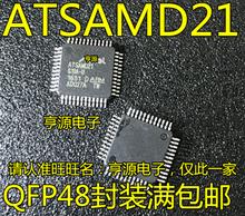 ATSAMD21G18A-AU ATSAMD21 QFP48