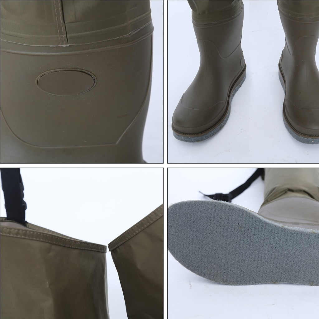 Lightweight Fly Fishing Waders Waterproof Stocking Foot Hip Breathable Thigh for River Hunting Fishing Pants Boot Men Women enlarge