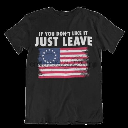 Si no te gusta, deja la camisa Betsy Ross, bandera patriota, camisa RR10