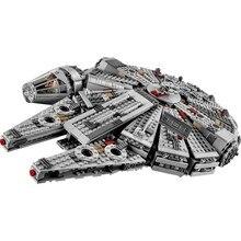 Star millénium 79211 Falcon Figures guerres blocs de construction briques inoffensives éclairer ajustement Compatible Lepining Starwars jouets