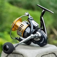 high speed gear ratio light weight ultra smooth spinning fishing reel